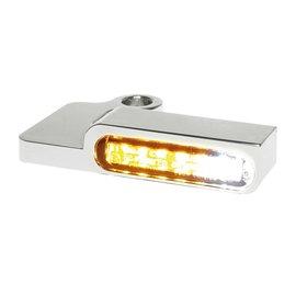 HeinzBikes LED Armaturen Blinker-Positionslicht-Kombination SPORTSTER Modelle -13, silber