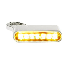 HeinzBikes LED Armaturen Blinker SPORTSTER Modelle 14-, silber