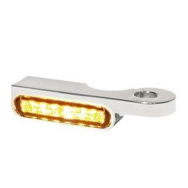 HeinzBikes LED Armaturen Blinker SOFTAIL Modelle -14, silber