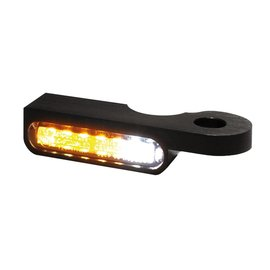 HeinzBikes LED Armaturen Blinker-Positionslicht-Kombination SOFTAIL Modelle -14, schwarz