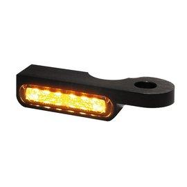 HeinzBikes LED Armaturen Blinker SOFTAIL Modelle -14, schwarz