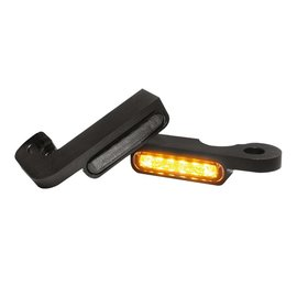 HeinzBikes LED Armaturen Blinker TOURING Modelle -08, schwarz