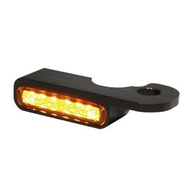 HeinzBikes LED Armaturen Blinker NIGHT- V-ROD Modelle 02-, schwarz