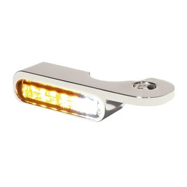 HeinzBikes LED Armaturen Blinker-Positionslicht-Kombination NIGHT- V-ROD Modelle 02-, silber
