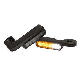 HeinzBikes LED Armaturen Blinker-Positionslicht-Kombination TOURING Modelle -08, schwarz