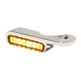 HeinzBikes LED Armaturen Blinker NIGHT- V-ROD Modelle 02-, silber