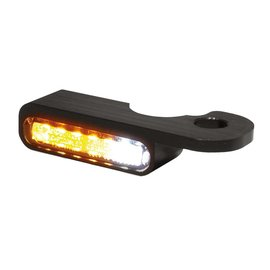 HeinzBikes LED Armaturen Blinker-Positionslicht-Kombination NIGHT- V-ROD Modelle 02-, schwarz