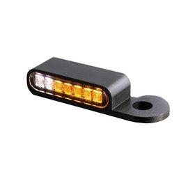 HeinzBikes LED Armaturen Blinker-Positionslicht-Kombination S Modelle 14-, schwarz