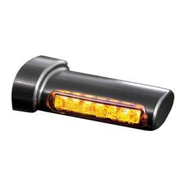HeinzBikes Winglets LED Blinker, alle Harley-Davidson Modelle 93-, schwarz