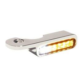 HeinzBikes LED Armaturen Blinker-Positionslicht-Kombination S Modelle 14-, silber