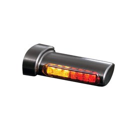 HeinzBikes Winglets 3in1 LED Rück-, Bremslicht, Blinker Einheit, alle H-D Modelle 93-, schwarz