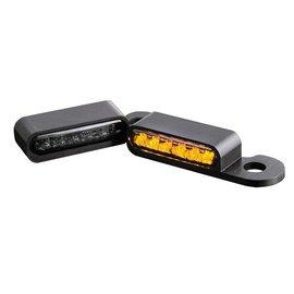 HeinzBikes LED Armaturen Blinker CVO Modelle 02-, schwarz