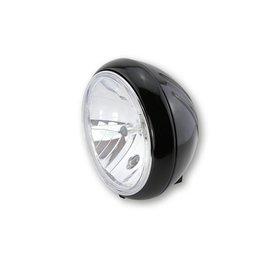 Shin Yo SHIN YO 7 Zoll YUMA 1 Hauptscheinwerfer, schwarz glänzend