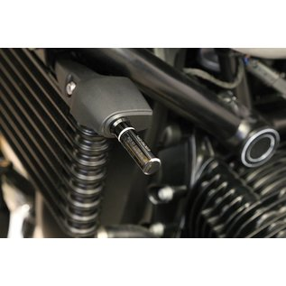 Highsider HIGHSIDER Alu Blinker-Montageplatten vorne, für BMW RnineT
