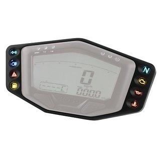 KOSO Anzeigenrahmen mit 8 Kontroll-Leuchten für KOSO Cockpit