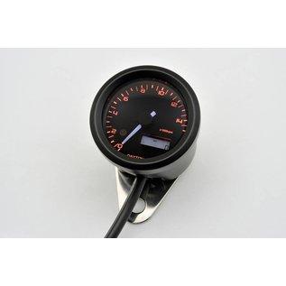 Daytona DAYTONA VELONA, Digitaler Drehzahlmesser, bis 15.000 U/Min, rund d 48 mm, schwarz