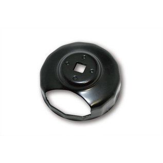 Ölfilterschlüssel 74 mm, mit Ausschnitt.