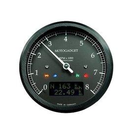 Motogadget motogadget Chronoclassic Drehzahlmesser DarkEdition -8.000 U/min