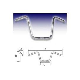 Fehling FEHLING Lenker APE Hanger Narrow Style High 1 Zoll, H35, chrom