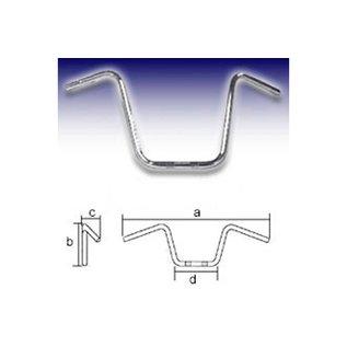 Fehling FEHLING Lenker APE Hanger Narrow Style Small 1 Zoll, H25, schwarz