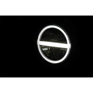Highsider HIGHSIDER 5 3/4 Zoll LED-Scheinwerfer PECOS TYP 6 mit TFL, schwarz matt