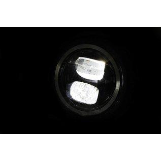 Highsider HIGHSIDER 5 3/4 Zoll LED-Scheinwerfer PECOS TYP 7 mit Standlichtring, schwarz matt