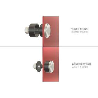 Highsider HIGHSIDER APOLLO LED Blinker Modul, schwarzes Alugehäuse, getöntes Glas, Paar, E-geprüft