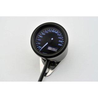 Daytona DAYTONA VELONA, Digitaler Tacho, bis 260 km/h,  rund d 48 mm, schwarz