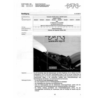 DTC  DTC Rahmenkürzung Kawasaki VN 900 Classic / VN 900 Custom