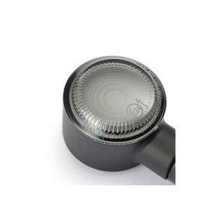 Daytona DAYTONA LED Blinker D-Light SOL, schwarz, getöntes Glas
