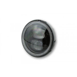 Highsider HIGHSIDER LED Hauptscheinwerfereinsatz TYP 7 mit Standlichtring, rund, schwarz, 5 3/4 Zoll