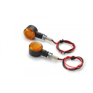 Daytona DAYTONA LED Blinker D-Light SOL, schwarz, gelbes Glas