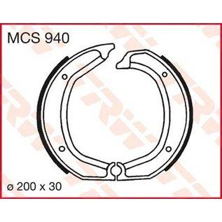 Siebenrock Bremsbacken Satz Lucas MCS 940 hinten für BMW /5, /6, /7 Modelle und R 45/65 bis 9/80