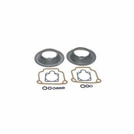Siebenrock Dichtsatz Vergaser 32er für 2 Bing Gleichdruckvergaser für BMW R2V Modelle außer R45 und R65 mit flachem Deckel