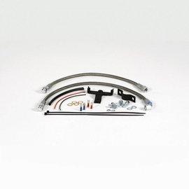 Siebenrock Schlauchkit Ölkühlerverlegung in die Mitte für BMW R2V Boxer G/S und GS Modelle
