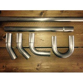 DIY- Krümmerkit 45 mm Edelstahlrohre