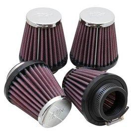 K&N K&N Luftfilterset chrom für Honda / Kawasaki / Suzuki