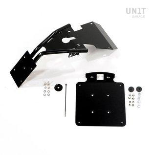Unitgarage Nummernschildhalter Metall für BMW R nineT