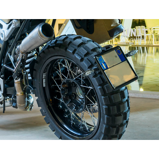 Unitgarage Nummernschildhalter Metall tief für BMW R nineT