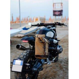 Unitgarage Sitzbank-Set schwarz mit Bügel und Schutzblech für BMW R nineT