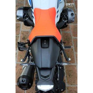 Unitgarage Sitzbank-Set orange mit Bügel und Schutzblech für BMW R nineT