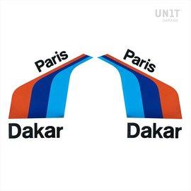 Unitgarage PARIS DAKAR Aufkleber universal