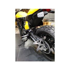 Seitlicher Nummernhalter Ducati Scrambler 800