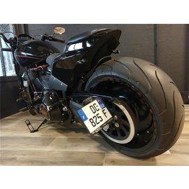 Seitlicher Nummernhalter Harley Davidson