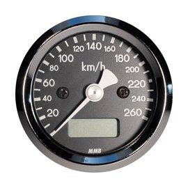 Elektronischer Tacho MMB bis 260 km/h