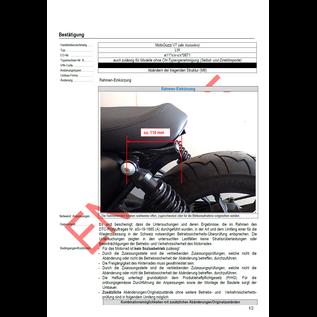 DTC  DTC Rahmenkürzung Moto Guzzi V7 Modelle