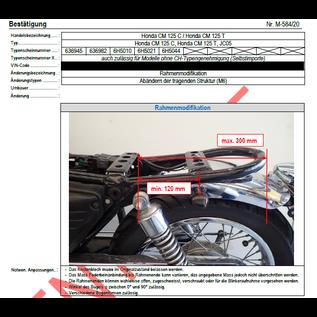 DTC  DTC Rahmenkürzung Honda CM125
