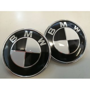 Motparts BMW Emblem Schwarz