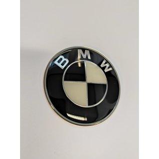 Motparts BMW Emblem Schwarz selbstklebend Tank