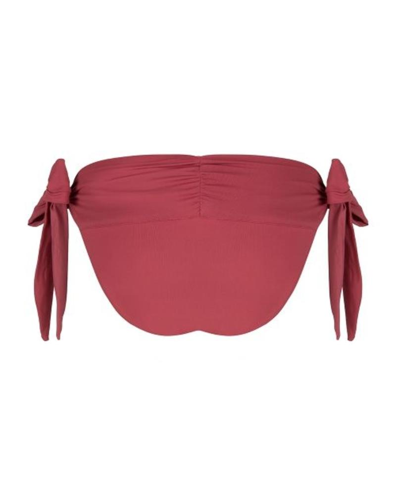 Boho Bikini Bottom - Burgundy